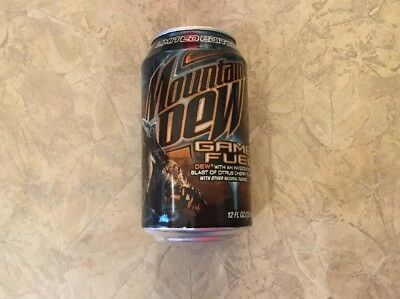 Halo 3 Mountain Dew Game Fuel Limited Edition 2  New & Unopened But Drained