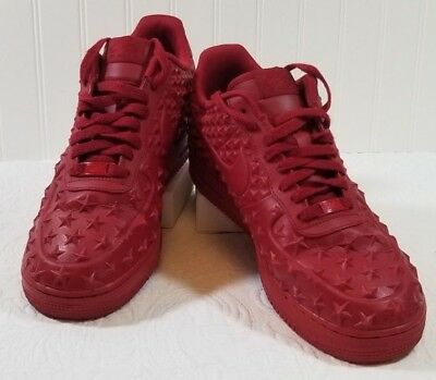separation shoes 2658e 2e752 Rare🔥Star Independence Day Nike Air Force 1 Low LV8 VT 2015 Gym Red Sz