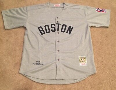 Jersey 99 Xxl Sox Williams Picclick 1939 Road Retro - Gray Ted New Mens Boston 44 Throwback Red aaddedacaeeae If Melvin Signs Before The Season