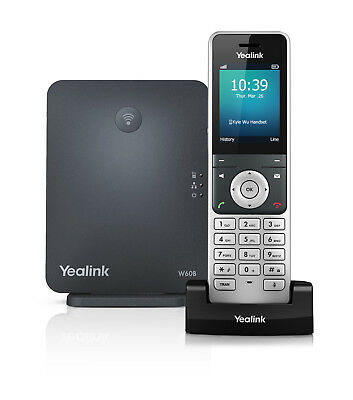 Yealink W60P  Wireless DECT W60B Base with W56H Handset + $5 Voucher