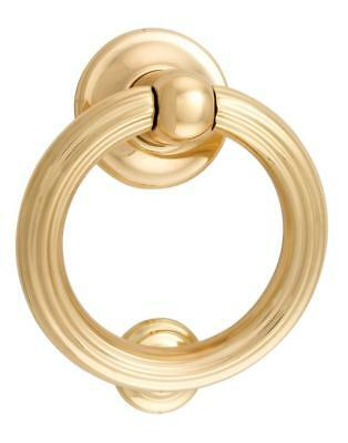 SIENA door knocker,concealed fix,solid brass in 9 finishes,base 135 mm diameter