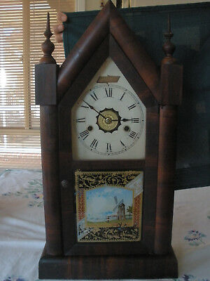 Jerome Steeple Clock Made  In 1892