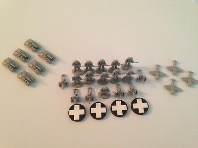 Axis and Allies Eagle Games Attack! Hungary Hungarian Axis Battle Pieces Lot