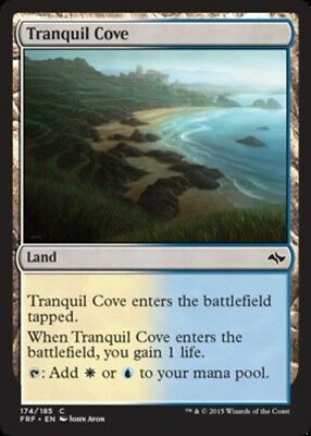 *4x Tranquil Cove* Fate Reforged MTG DeadGuyGames
