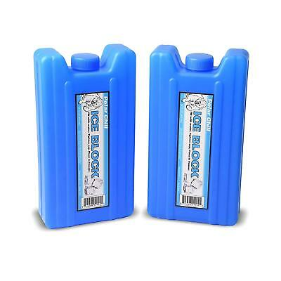 GoPong Sneak Alcohol Anywhere Ice Flask 2 Pack Blue IPF-02 815898020241 NEW