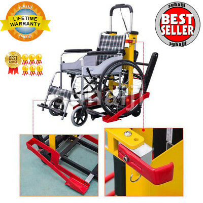 Motorized Wheelchair Lift Electric Stair Lifting Climbing Elevator for Disabled