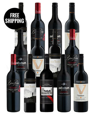 Coonawarra Reds Mix + Bonus Bottle (13 Bottles)