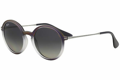 59d8a72b91 Ray Ban RB4222 RB 4222 RayBan 6223 11 Violet Shot Black Round Sunglasses