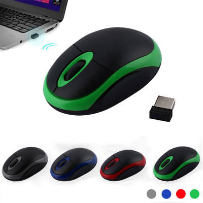 Wireless USB Maus PC Kabellos Mouse Computer Laptop Notebook Funkmaus 2.4 GHz