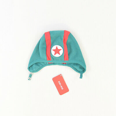 Gorro corchetes color Verde marca Kik Kid 6 Meses  516981