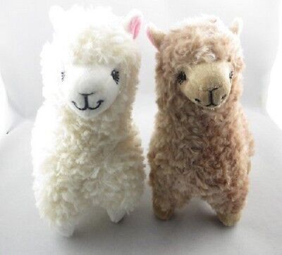 "2Pcs 9.1"" Cute Alpacasso Kawaii Alpaca Llama Arpakasso Soft Plush Toy Doll Gift"