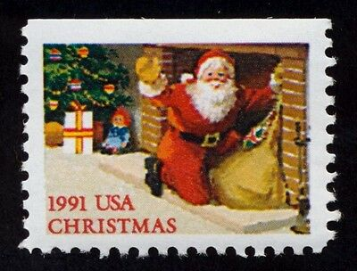#2584 Santa at Fireplace, Mint ANY 4=