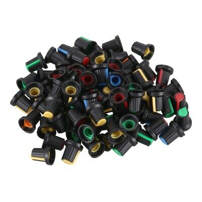 80 pcs random color 6mm knob knob potentiometer N8H3