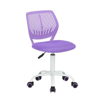 New Office Task Desk Chair Adjustable Mid Mesh Back Home Children Study Chair