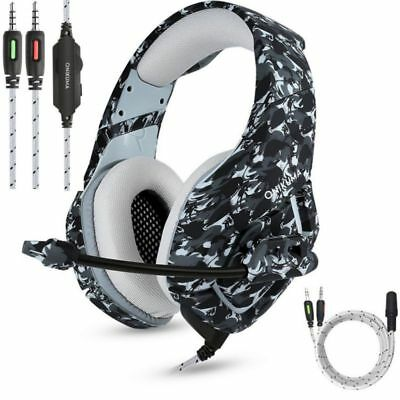 ONIKUMA K1 Stereo PC Gaming Headset for PS4 New Xbox One with Mic Camouflage