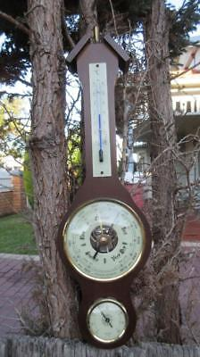 1950's Circa Pracisions Barometer Made in Germany Hygro 20-100 Thermometer