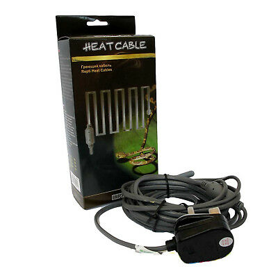 Reptile Heat Cable for Vivarium / Terrarium - Propagation, Incubation, Heating