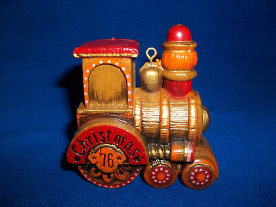 1976 HALLMARK Train Tree Trimmer Collection Christmas Yesteryears Ornament