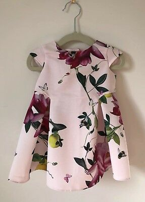 Ted Baker Baby Girl Party Dress 6-9 Months