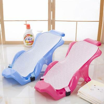 Baby Bath Tub Pillow Pad Lounger Cushion Newborn Shower Net Infant Bathtub