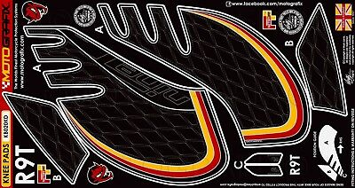 BMW R Nine T 2014 15 16 17 18 R9T Motorcycle Tank Knee Pad Protection Decal Set