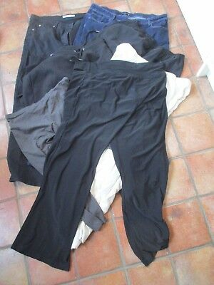 Bundle Of 7 Pairs Of Ladies Jeans/trousers/crops/joggers, Size 28R, Branded, Exc