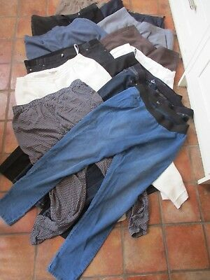Bundle Of 12 Pairs Of Ladies Jeans/trousers/jeggings, Size 18R, Branded, Exc-Con