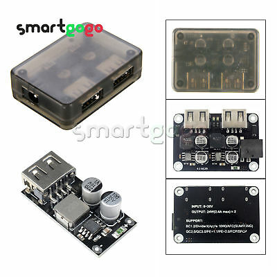 Buck USB Charging Module DC 6-32V 12V 24V to QC3.0 Fast Charge Iphone BSG