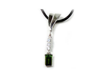 19thC Antique 1¼ct Tourmaline Medieval Shaman Mystic Philosopher Alchemy Pendant