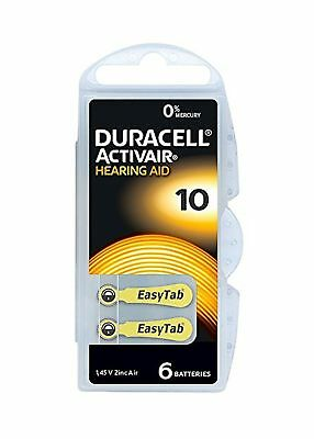 Duracell Hearing Aid of 10 .