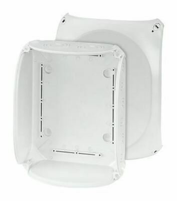 Polycarbonate IP66/67 Junction Box Knock Out, 255 x 205 x 112mm, Grey