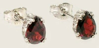 "19thC Antique 1¼ct Garnet Pomegranate ""Carbuncle"" Ancient Roman German Barbarian"