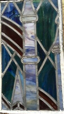 antique stained glass window church