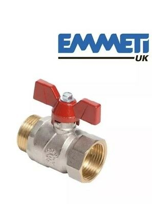 Emmeti 1″ Ball Valve with Butterfly Handle