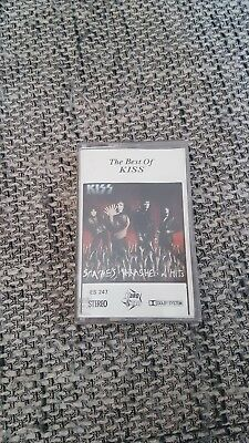 Kiss - The Best Of Kiss: Smashes, Trashes &hits- Tape!!!  Hardrock Rock Metal
