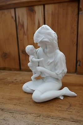 Kaiser Porcelain Limited Edition Mother and Child Figure