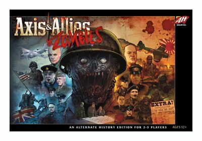 Avalon Hill Board Game Axis & Allies & Zombies english