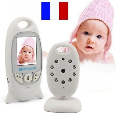 Babyphone Sans Fil Audio Video Bebe Camera Vision Nocturne / Thermometre Neuf