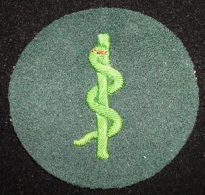 Wwii German Police Medical Trade Patch