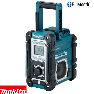 Makita DMR108 18V/10.8V CXT Job Site Radio with Bluetooth Body Only