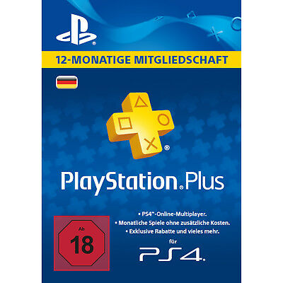 Playstation PLUS - PSN PLUS Card - 365 Tage - DE