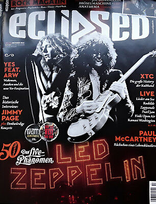 Eclipsed Nr. 204 (Oktober-2018) incl. CD 50 Jahre Led Zeppelin