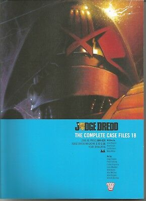 JUDGE DREDD: The Complete Case Files No. 18 (2011) First Edition Trade Paperback