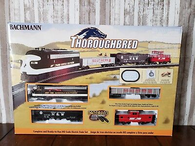 Bachmann HO Thoroughbred Diesel Train Set 00691 NIB Bachman H-O