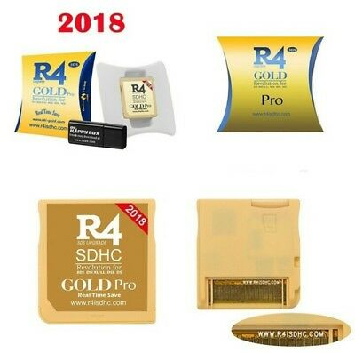 💥3DS R4 GOLD PRO 2018!💥PER NINTENDO DS, 2DS, 3DS, NEW 3DS XL🔥🔝originale💯🔥