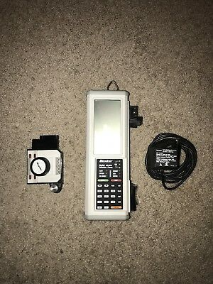 Baxter AS40 syringe pump w/ AC adapter and pole clamp. Needs a New Battery
