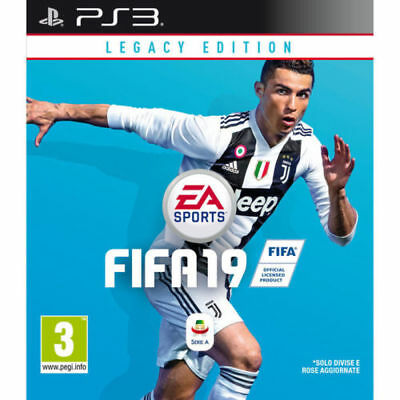 Videogioco Fifa 19 Legacy Edition Ps3 Italiano Gioco Fifa 2019 Play Station 3