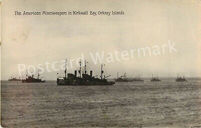 Orkney Islands The American Minesweepers In Kirkwall Bayreal Photo