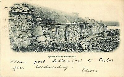 Orkney Queen Street Stromness Early Write Away Posted 1902