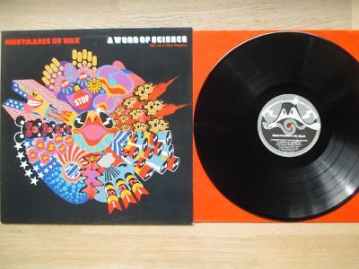 NIGHTMARES ON WAX, a world of science,ROUGH TRADE REC 1991,OIS,TOP HIP HOP VINYL